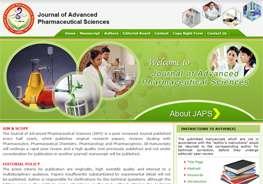Journal of Advanced Pharmaceutical Sciences (JAPS)