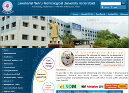 Jawaharlal Nehru Architecture and Fine Arts University (JNTU Hyderabad)
