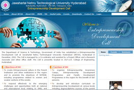 JNTUH Entrepreneurship Development Cell