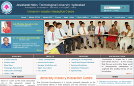 JNTUH University Industry Interaction Cell